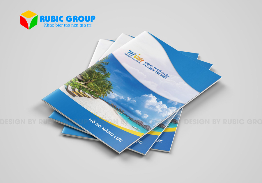 thiết kế hồ sơ năng lực công ty du lịch 1