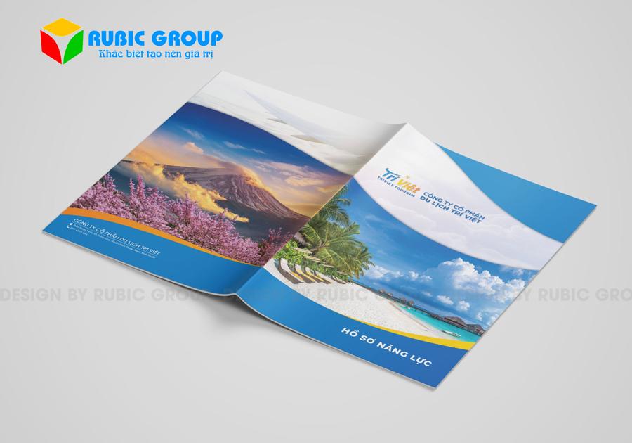 thiết kế hồ sơ năng lực công ty du lịch 2