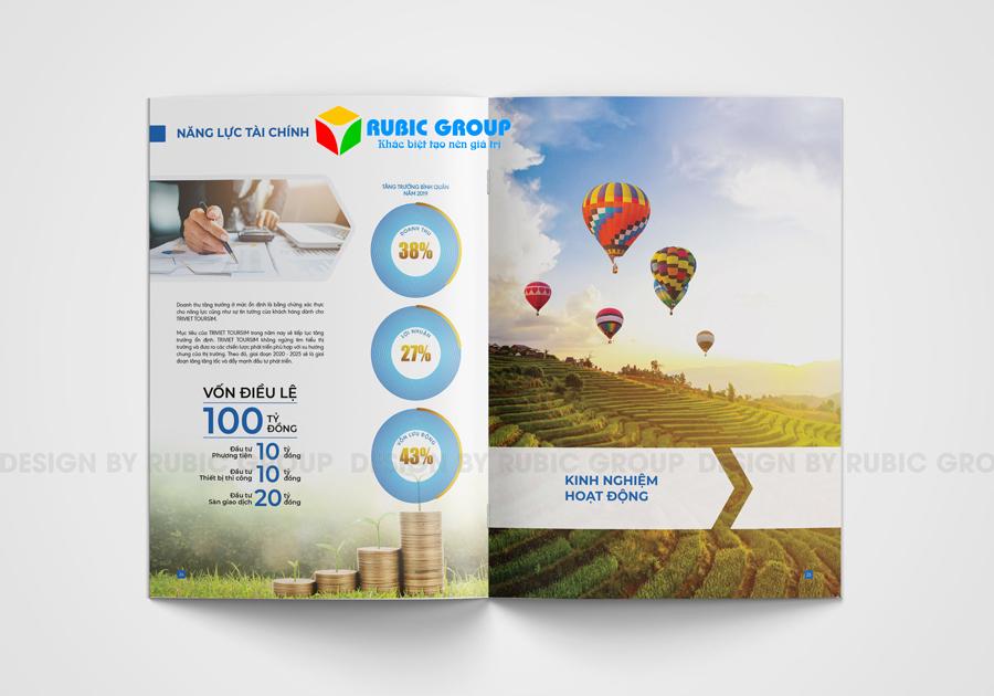 thiết kế hồ sơ năng lực công ty du lịch 3