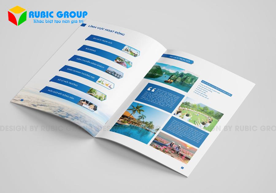 thiết kế hồ sơ năng lực công ty du lịch 6
