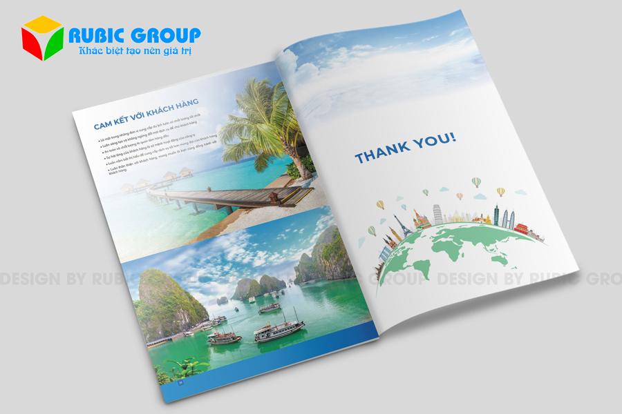 thiết kế hồ sơ năng lực công ty du lịch 7