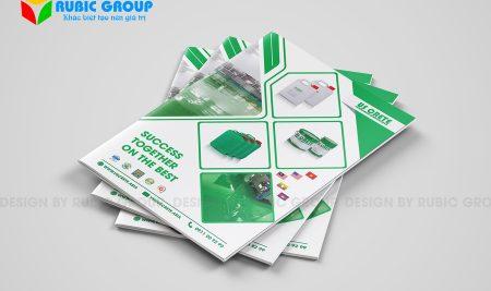 Thiết kế hồ sơ năng lực công ty hoá chất cần lưu ý gì?