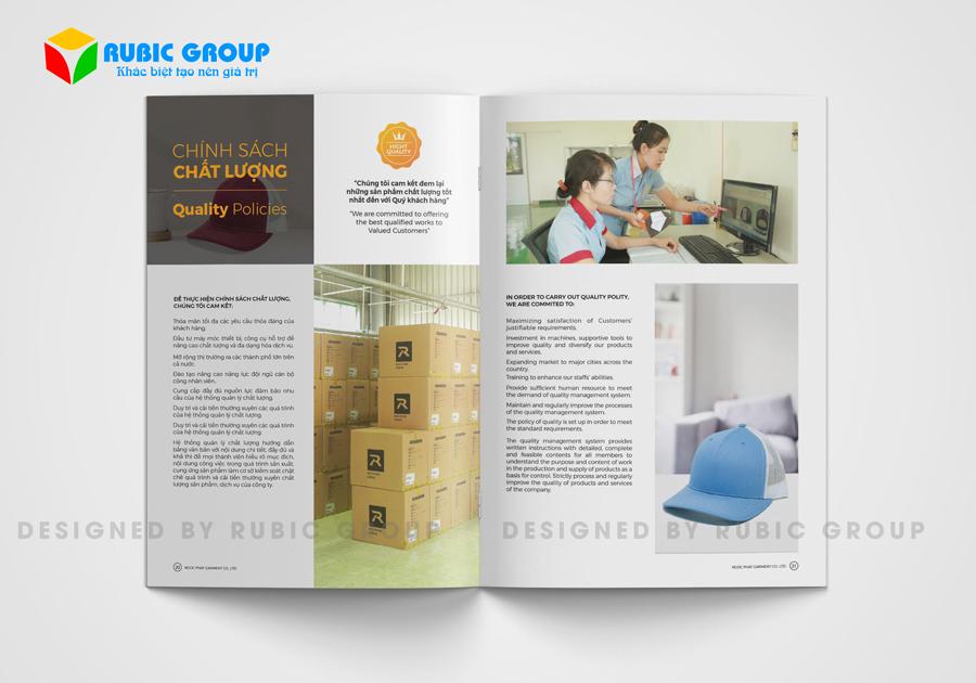 thiết kế hồ sơ năng lực công ty may mặc 3