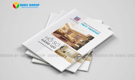 Dịch vụ thiết kế hồ sơ năng lực màn cửa uy tín, chuyên nghiệp và giá rẻ