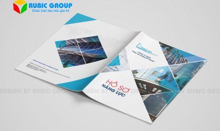 Thành phần và các lưu ý khi thiết kế hồ sơ năng lực công ty nhôm kính