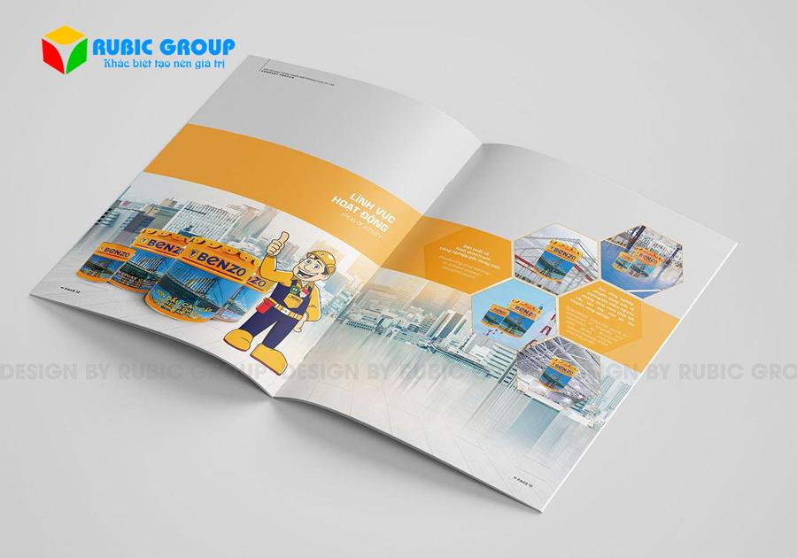 thiết kế hồ sơ năng lực công ty sơn 3