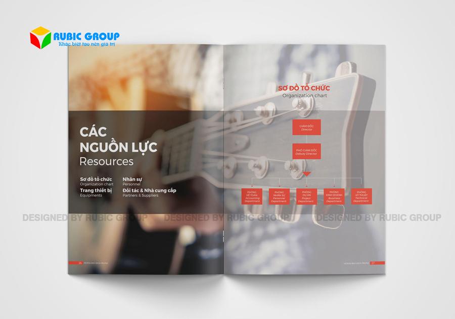 thiết kế hồ sơ năng lực công ty thiết bị âm thanh 3