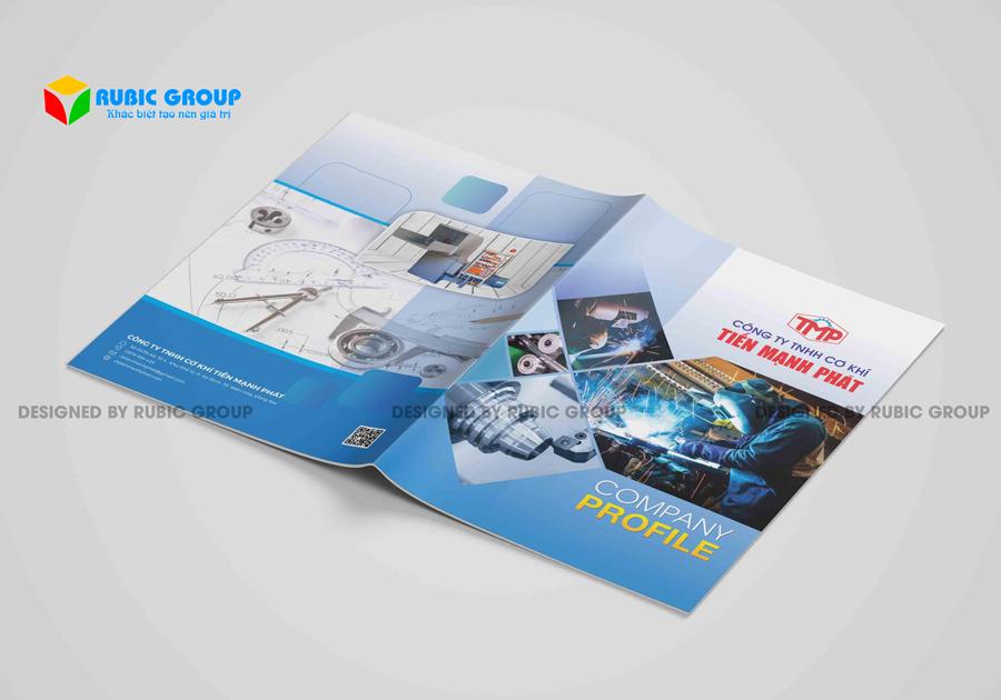 thiết kế hồ sơ năng lực công ty thiết bị cơ khí 3