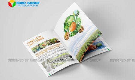 Thiết kế hồ sơ năng lực công ty thực phẩm tạo dấu ấn cho khách hàng