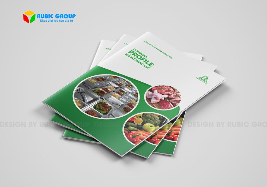 thiết kế hồ sơ năng lực công ty thực phẩm 5