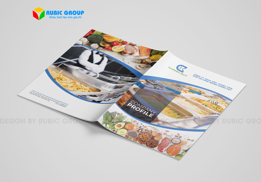 thiết kế hồ sơ năng lực công ty thực phẩm 6