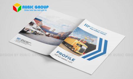 Thiết kế hồ sơ năng lực công ty xuất nhập khẩu trọn gói, nhanh, rẻ