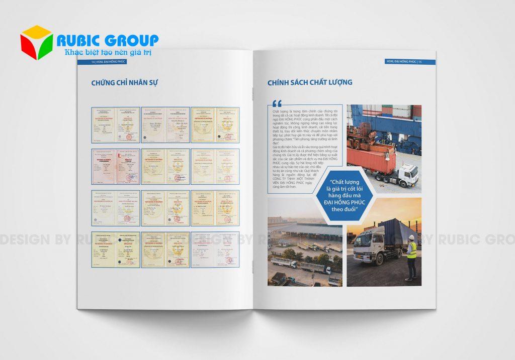 thiết kế hồ sơ năng lực công ty xuất khẩu 2