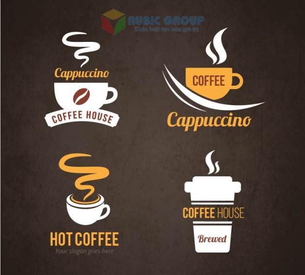thiết kế logo quán cafe 1