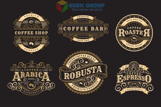 thiết kế logo quán cafe 3