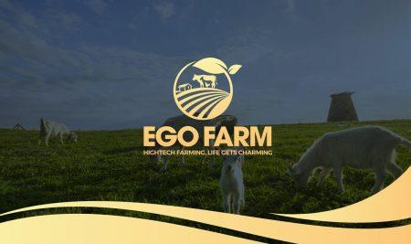 Bộ nhận diện thương hiệu Ego Farm