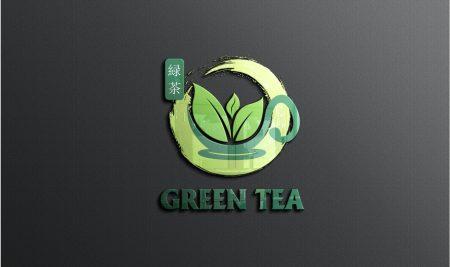 Logo trà sữa Green Tea