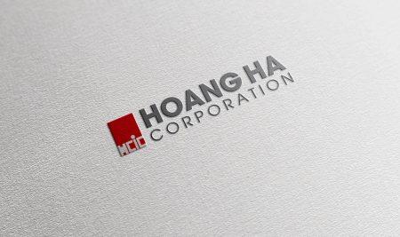 Logo xây dựng Hoàng Hà