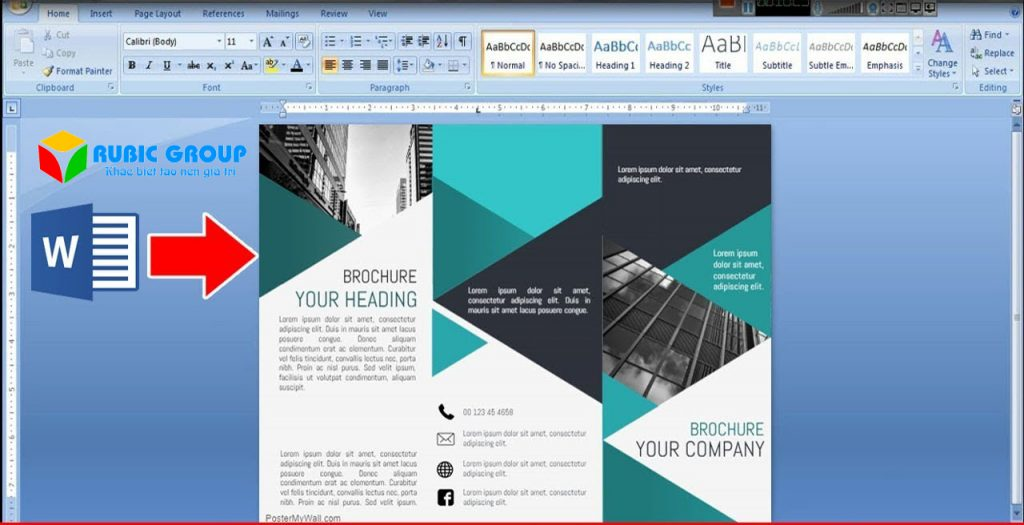 thiết kế brochure bằng phần mềm gì 2