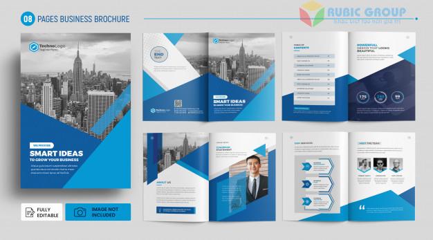 thiết kế brochure trên word 2