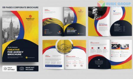 Thiết kế brochure trên word chuyên nghiệp