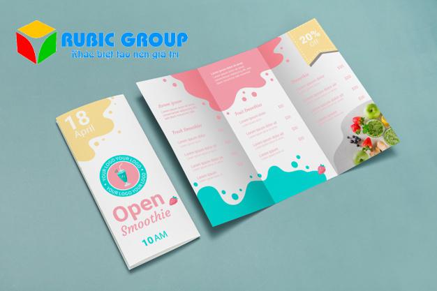 thiết kế brochure ai 5