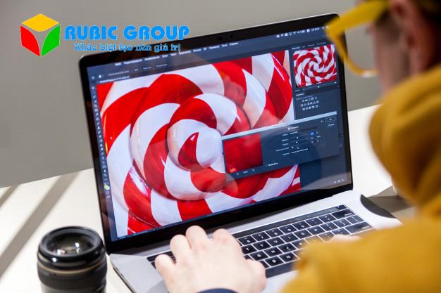 thiết kế brochure bằng photoshop 2