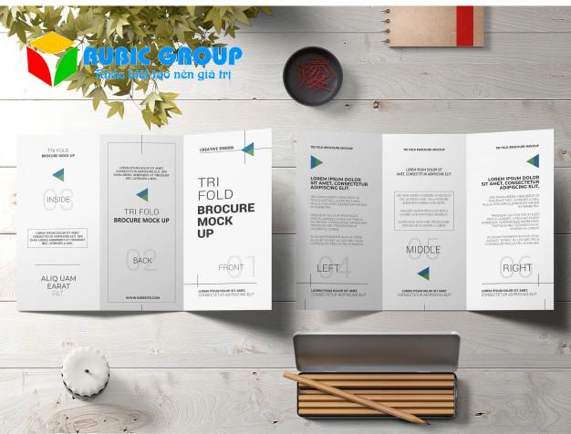 thiết kế brochure bằng powerpoint 1