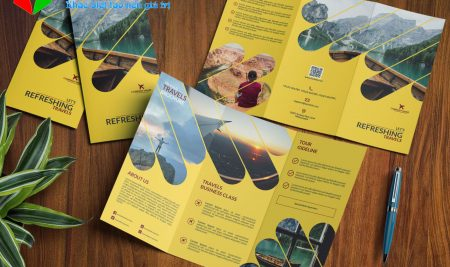 Thiết kế brochure du lịch đẹp gây ấn tượng với khách hàng