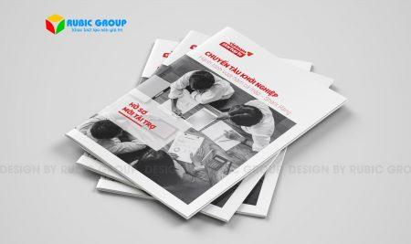 Thiết kế brochure tại Hồ Chí Minh chuyên nghiệp, hiện đại