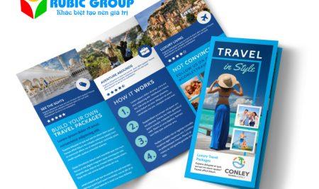 Những lưu ý quan trọng khi thiết kế tờ rơi du lịch