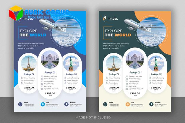 thiết kế tờ rơi du lịch 2
