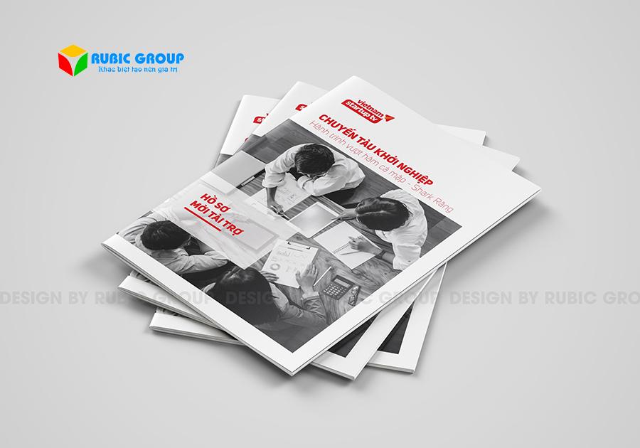 mẫu thiết kế brochure đẹp 1