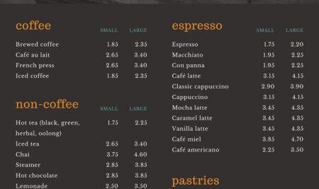 """""""Bỏ túi"""" ngay 4 nguyên tắc giúp bạn thiết kế menu trà sữa đẹp"""