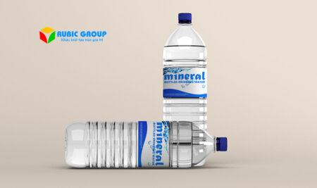 Thiết kế nhãn chai nước suối cần lưu ý gì?