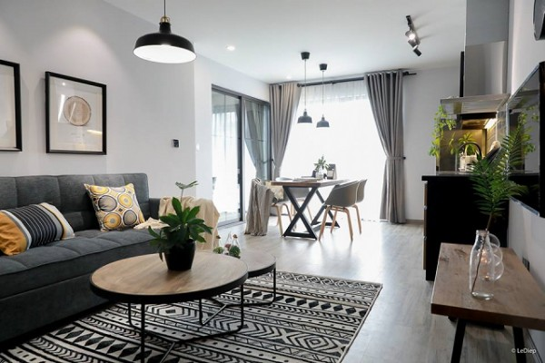 mẫu thiết kế nội thất chung cư 1