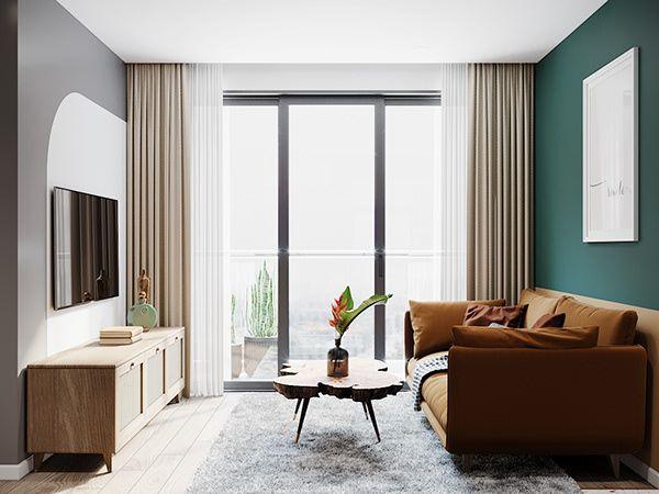 mẫu thiết kế nội thất chung cư 3