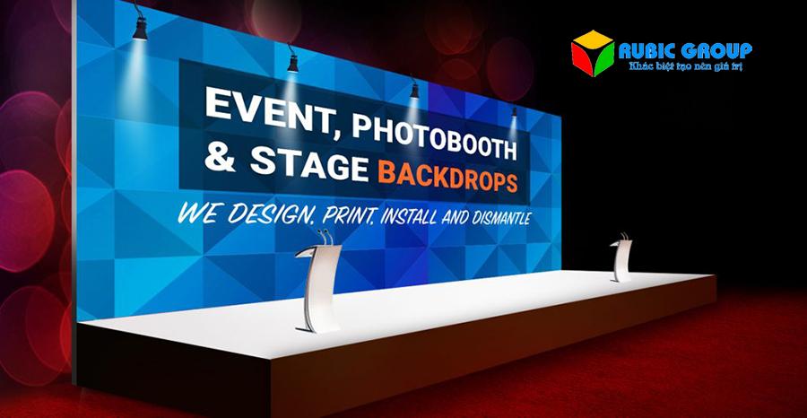 thiết kế backdrop sự kiện 3