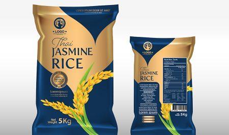 Thiết kế bao bì gạo giúp tăng nhận diện thương hiệu